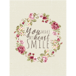 A Mother's Love - Journal Card - Smile