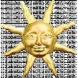 Picnic Day - Sun Brooch