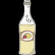 Picnic Day - Strawberry Lemon Soda Bottle Doodle