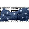 Blue Skies & Lemonade Mini - Blue Bow