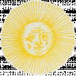 Blue Skies & Lemonade Mini - Sun Sticker