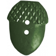 Back To Nature - Green Acorn Button
