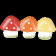 Back To Nature - Mushroom Barrette
