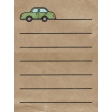 Back To Nature - Car Journal Card