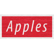 Enchanting Autumn - Apples Word Art