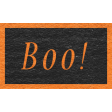 Enchanting Autumn - Boo! Word Art