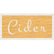 Enchanting Autumn - Cider Word Art