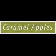 Enchanting Autumn  - Caramel Apples Word Art