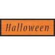 Enchanting Autumn - Halloween Word Art
