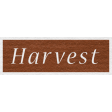 Enchanting Autumn - Harvest Word Art