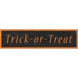 Enchanting Autumn - Trick-Or-Treat  Word Art