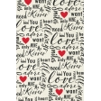 Toolbox Valentine's Kit 1 - 4x6 Love Words Journal Card