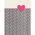 Toolbox Valentine's Kit 2 - 3x4 Floral Heart Journal Card