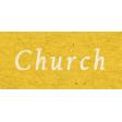Memories & Traditions - Church Word Art