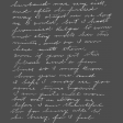 Memories & Traditions - Chalk Handwriting Letter 2