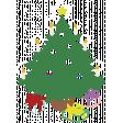 Memories & Traditions - Chalk Christmas Tree