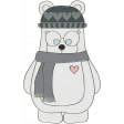 Winter Fun - Bear Doodle