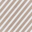 Winter Fun - Tan Stripes Paper