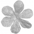 Fabric Flower Template 073