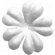 Fabric Flower Template 076