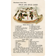 Memories & Traditions - Fruit and Spice Cakes Recipe Card