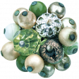 Memories & Traditions - Green Bead Cluster