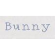 Spring Day - Bunny Word Art