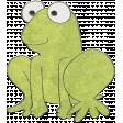 Raindrops & Rainbows - Frog Doodle