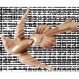 Raindrops & Rainbows - Metal Bird Charm