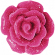 Raindrops & Rainbows - Pink Resin Flower
