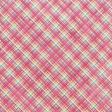 Raindrops & Rainbows - Pink Plaid Paper