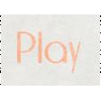 Raindrops & Rainbows - Play Word Art