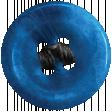 Raindrops & Rainbows - Blue Button 03
