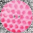 Raindrops & Rainbows - Pink Button 05