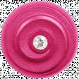 Raindrops & Rainbows - Pink Button 08