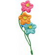 Happy Birthday Mini - Flower Cluster