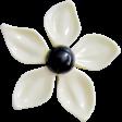 Good Vibes - White Flower