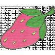 Happy Birthday Mini - Strawberry Doodle