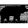 Animal Stamp Template 004