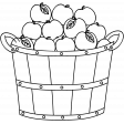Basket Doodle Template 004