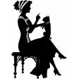 Silhouette Stamp Template 001