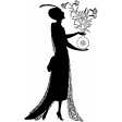 Silhouette Stamp Template 013