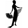 Silhouette Stamp Template 014