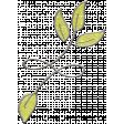 Slice of Summer - Leaves Doodle