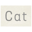 At the Zoo - Cat Word Art