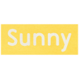 At the Zoo - Sunny Word Art