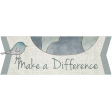 For the Love of Peace - Make a Difference Word Art