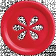 Apple Crisp - Red Apple Button 02