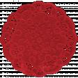 Apple Crisp - Red Doily