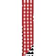 Apple Crisp - Red Gingham Ribbon